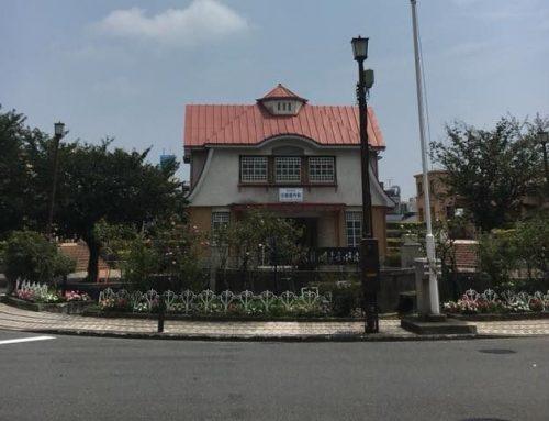 田園調布駅タクシー乗り場の清掃活動