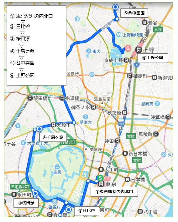 上野・谷中コース(2.5時間)