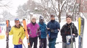 スキー部 福島県の猪苗代スキー場