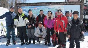 スキー部 新潟県の上越国際スキー場