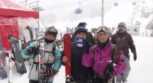 スキー部 新潟県苗場スキー場