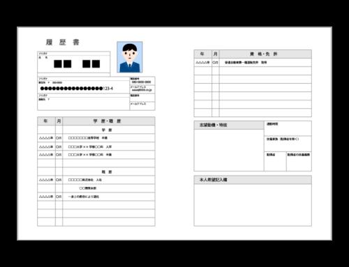 タクシードライバーの履歴書・職務経歴書の書き方のポイント